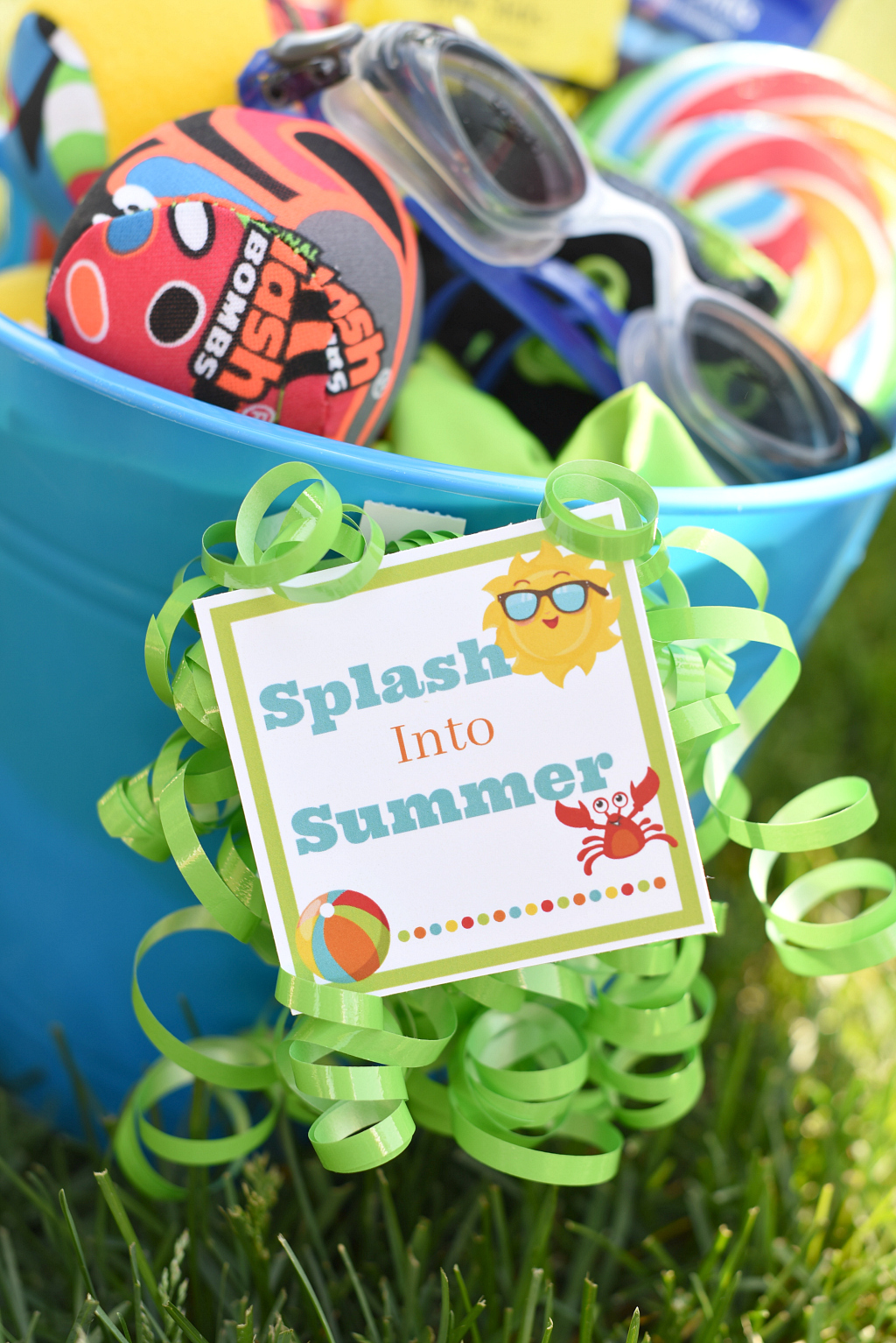 Splash Into Summer Printable