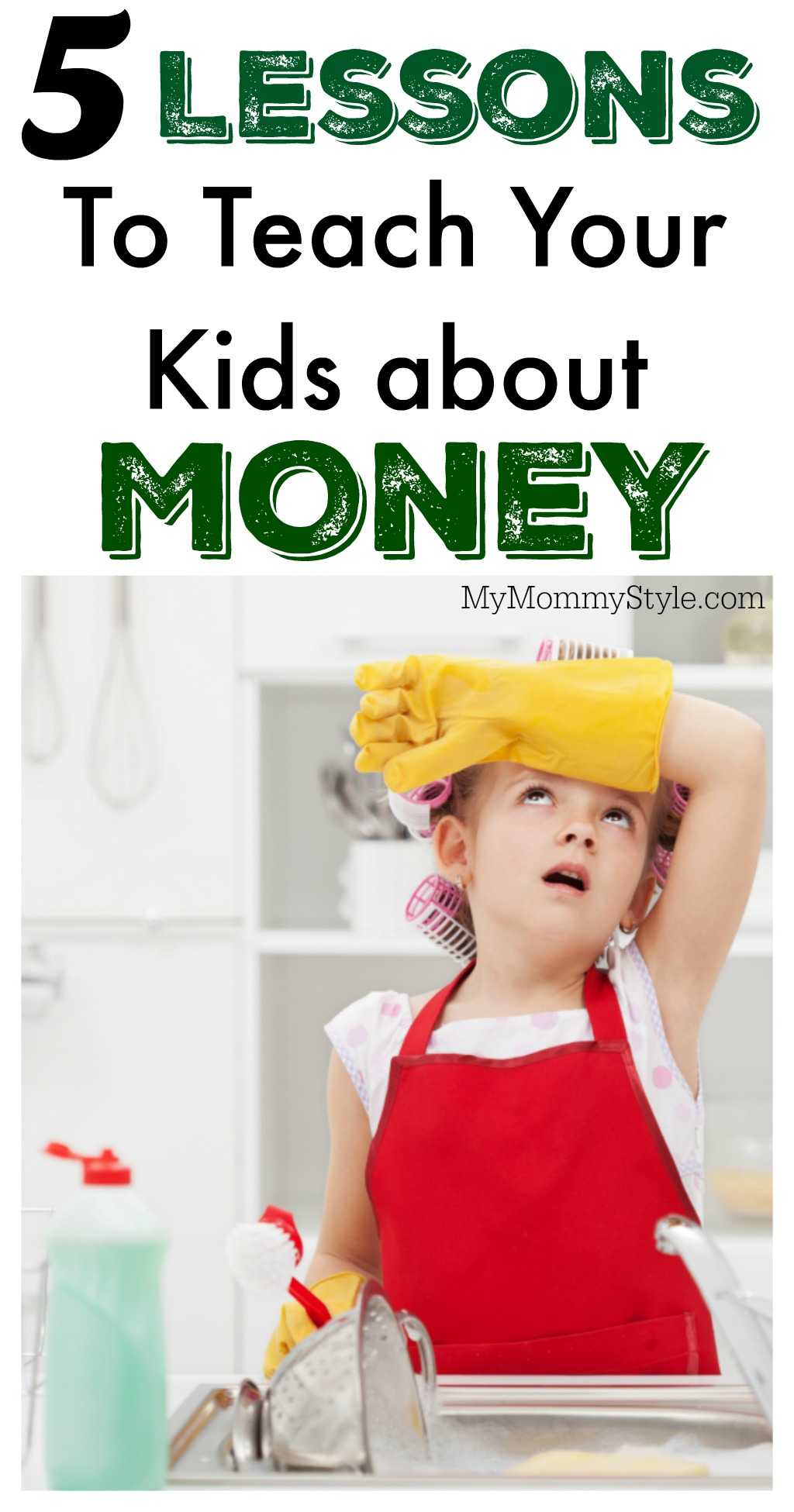 5 Lessons to Teach Your Kids about money