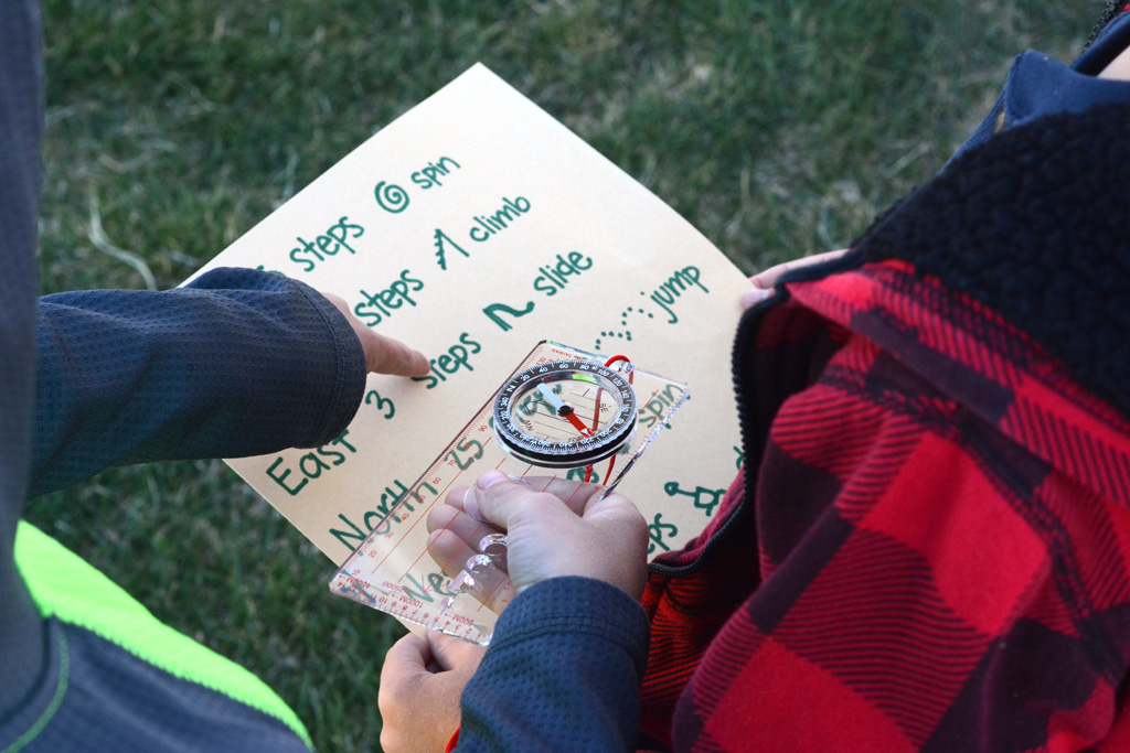 Send your kids on an adventure of learning to use a compass. Don't forget to hide the treasure filled with awesome prizes for all the kids.
