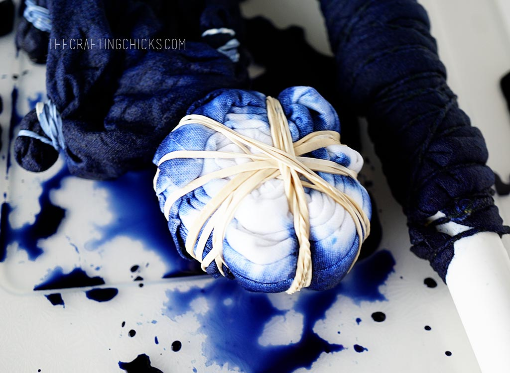 How-to Shibori Dye