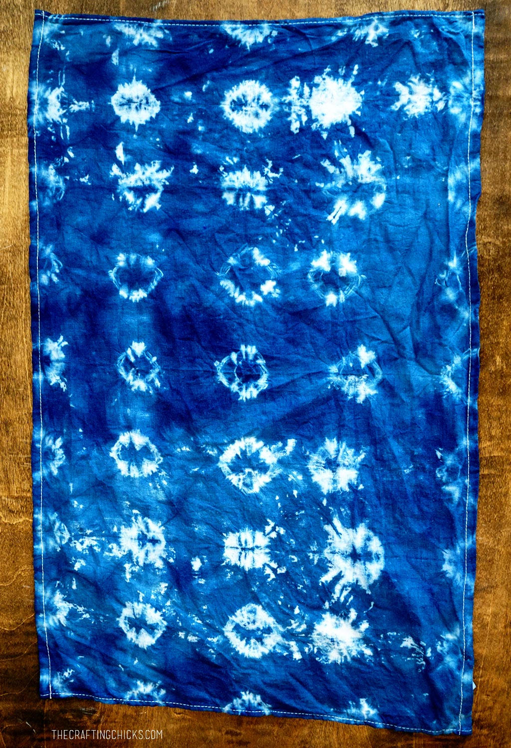 Results of rubberband shibori