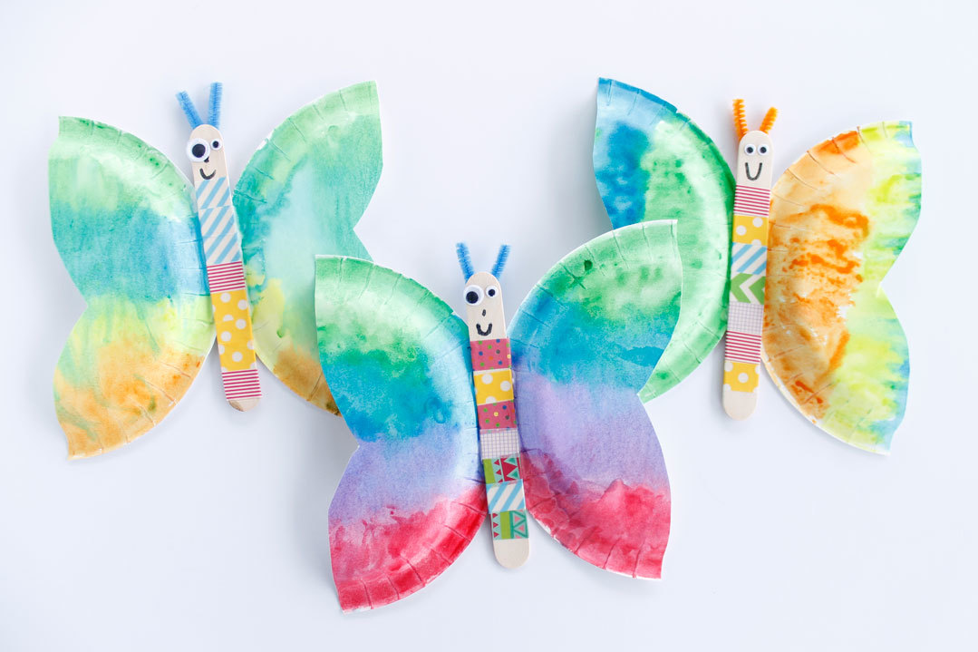Butterfly Kids Crafts And Activities