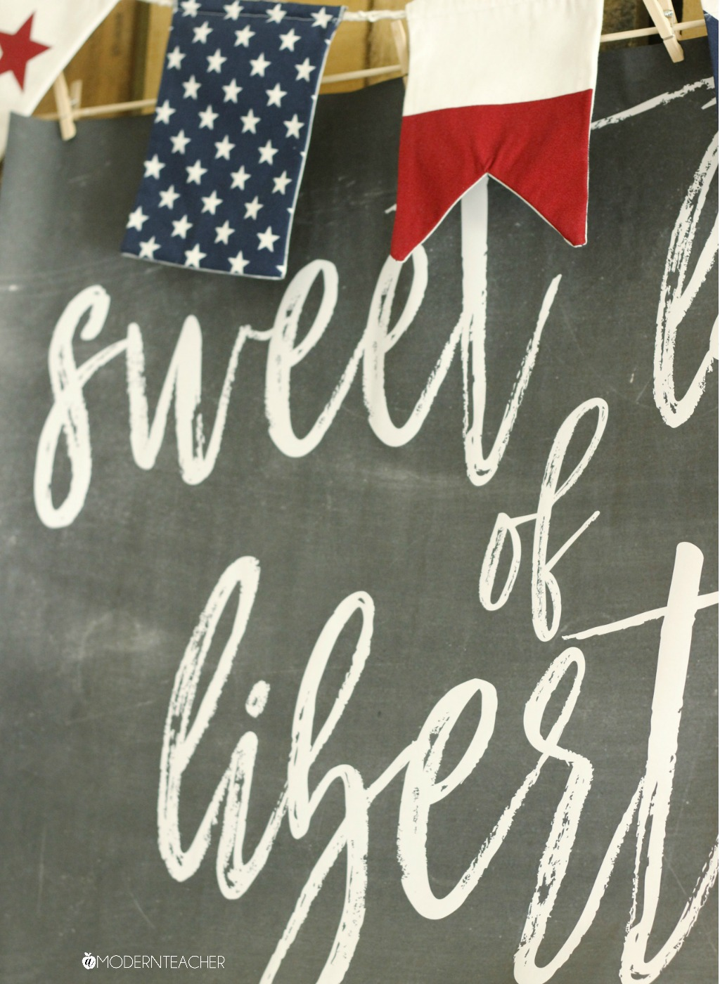 July 4th Free Farmhouse Printable