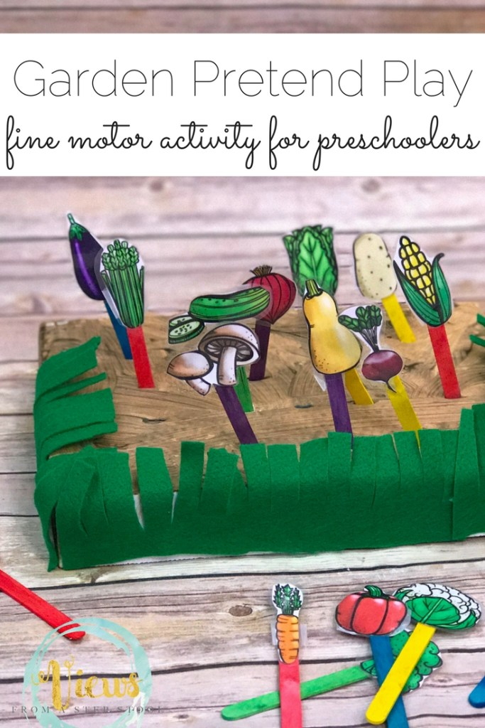 Garden kids crafts and activities the crafting chicks for Garden crafts for preschoolers