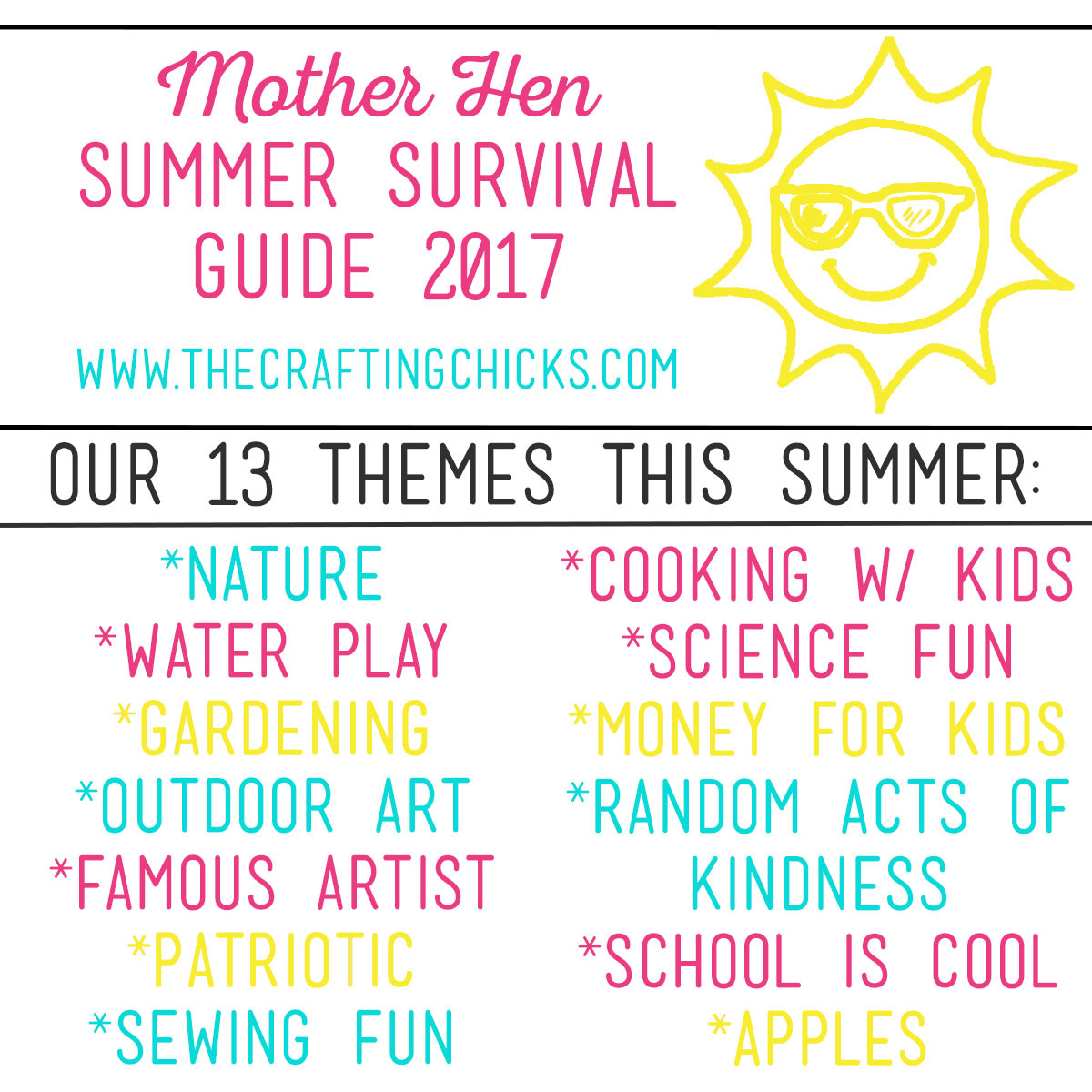 Mother Hen Summer Survival Series 2017