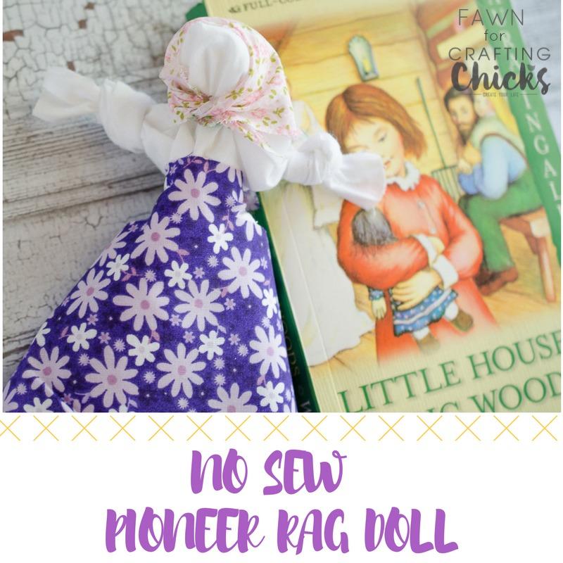 photo regarding Printable Rag Doll Patterns identify No Sew Pioneer Rag Doll