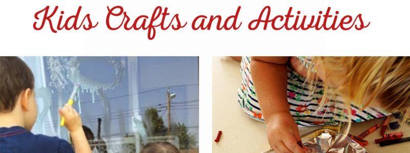 Outdoor Art Kids Crafts and Activities