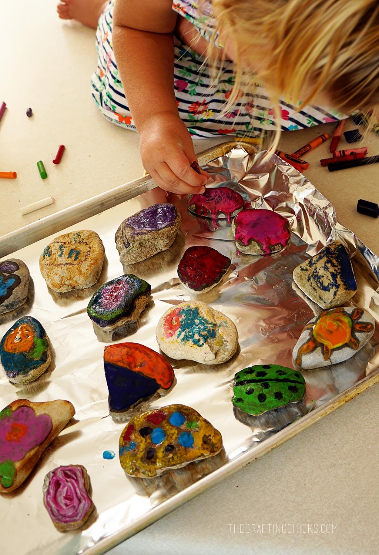 Coloring Rocks