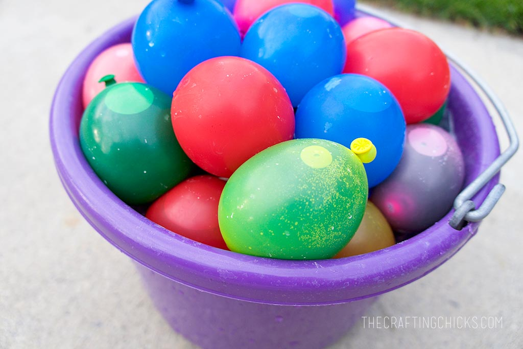 How to make sidewalk chalk balloons