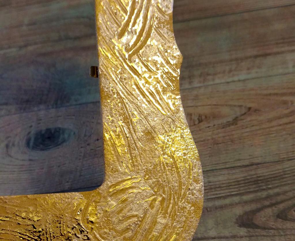 DIY Gold Frame, Summer Art, DIY Frame, Gold Leaf Frame