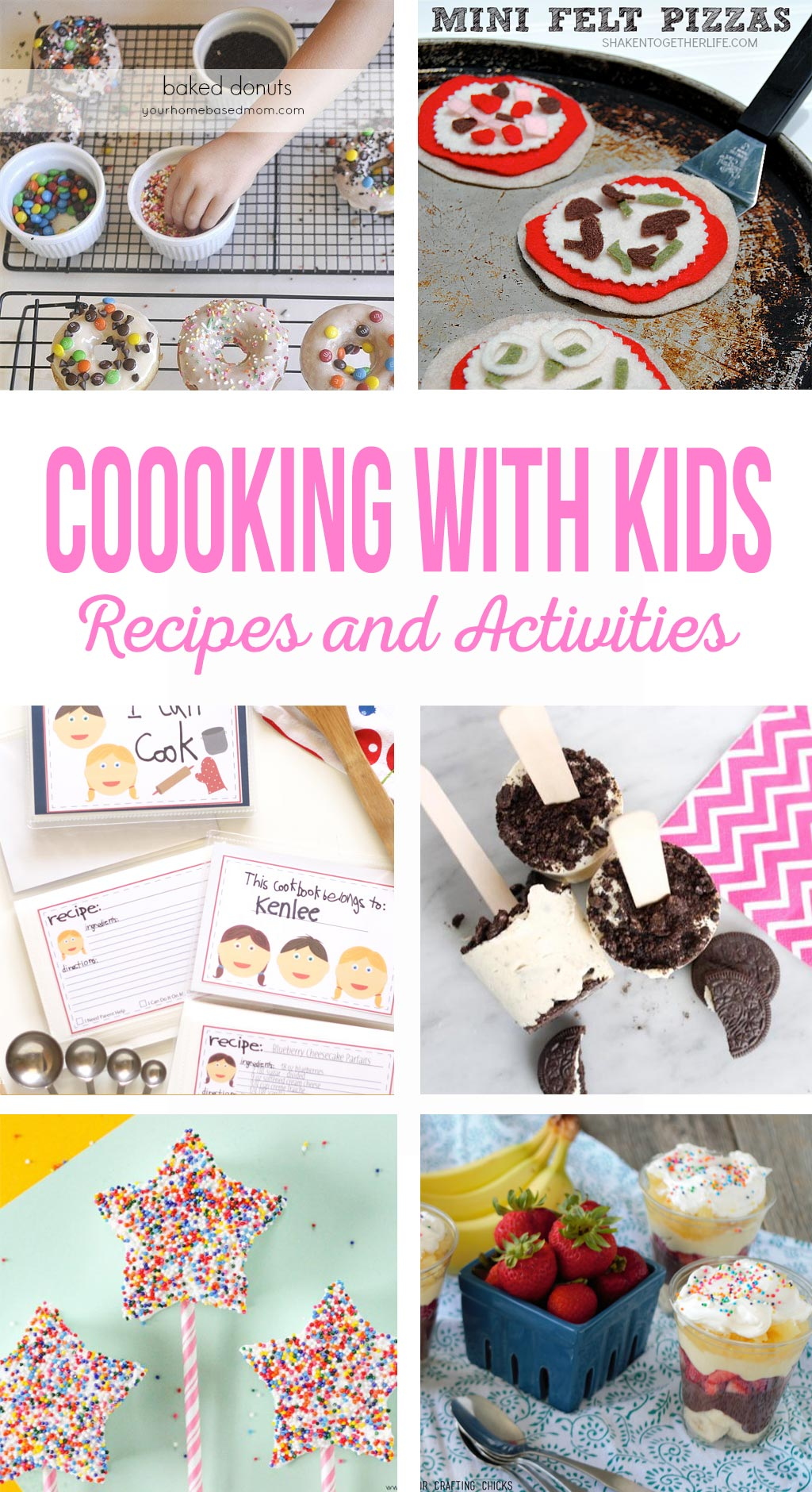 Cooking with Kids - Recipes and Activities - The Crafting Chicks