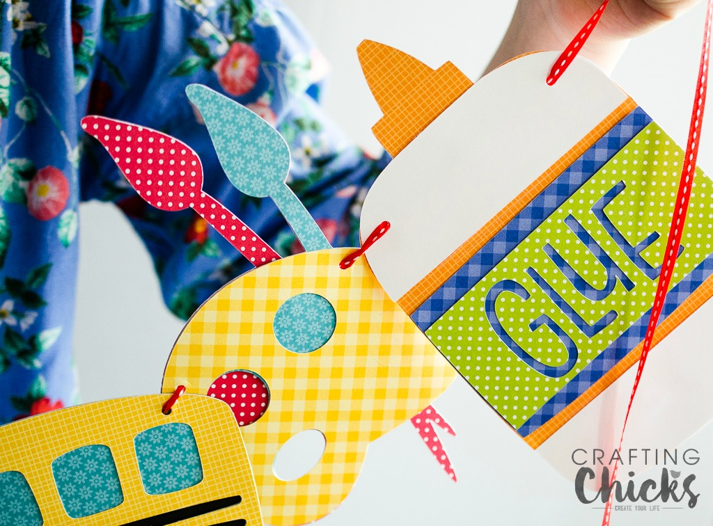 School is Cool kids Craft. Help banish those back to school butterflies with this easy craft. It's also a great keepsake for them to look back on.