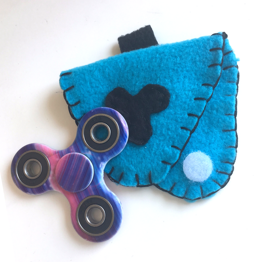 DIY Fidget Spinner Case