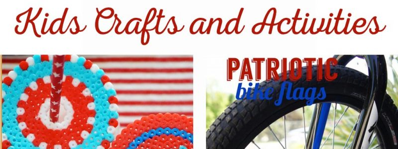 Patriotic Kids Crafts and Activities