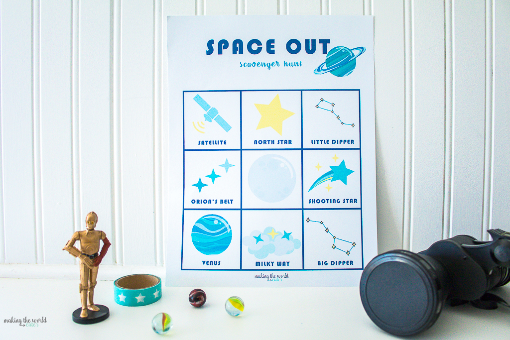 Space Out Scavenger Hunt