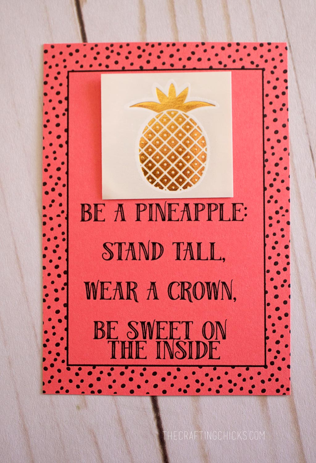 Be A Pineapple Pillow Treats