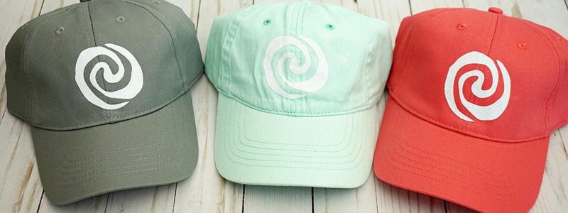 Moana Themed Girls Camp Hats