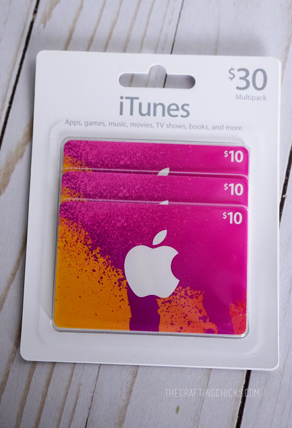iTunes Gift Card Holder Thank You