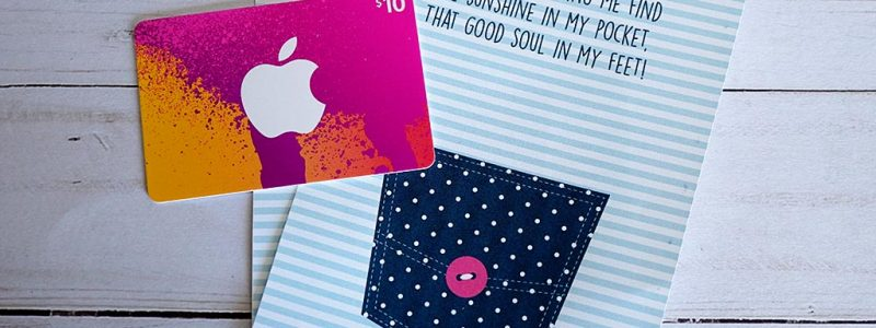 Sunshine in My Pocket iTunes Gift Card Thank You