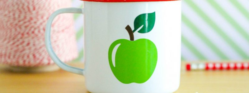 Handmade Green Apple Mug Candle