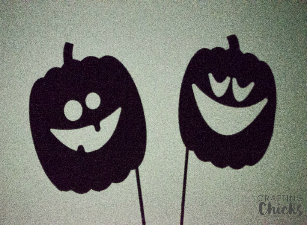 Pumpkin Shadow Puppets