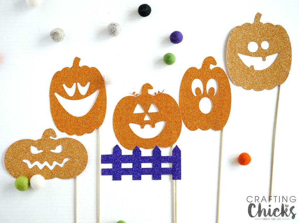Pumpkin Shadow Puppets
