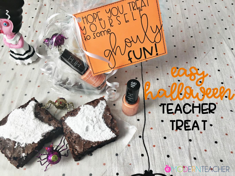 Halloween Treat for Teachers