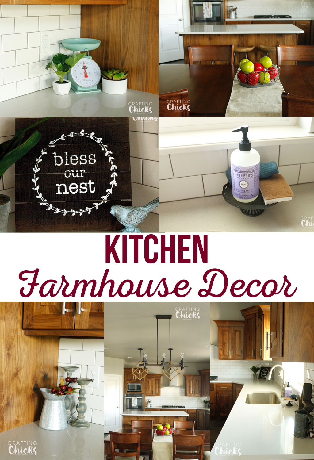 Kitchen farmhouse decor the crafting chicks