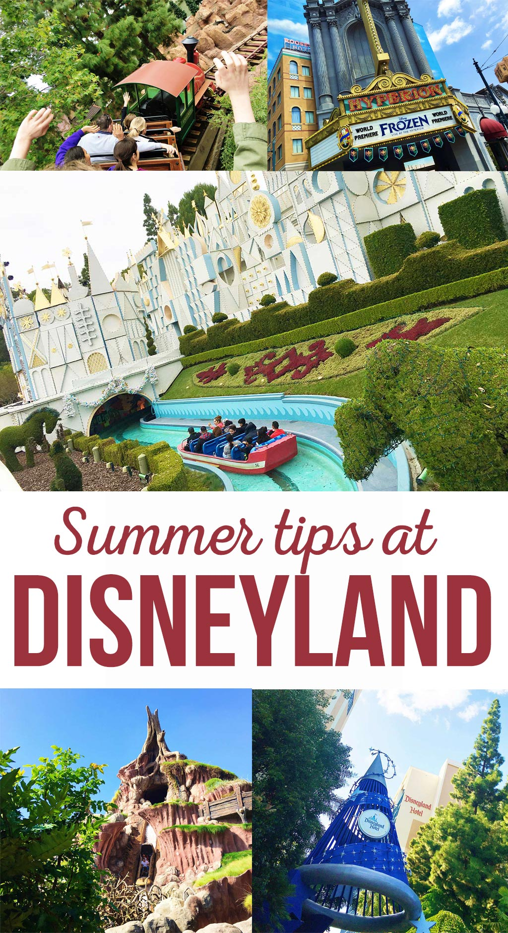 Find out how to beat the heat at Disneyland during summer. Learn about the best rides, treats and tricks for staying cool on a hot day.