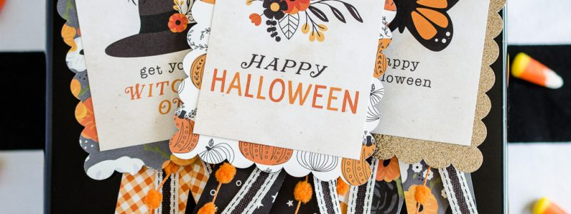 DIY Halloween Badges #Halloween #DIY #Papercrafts
