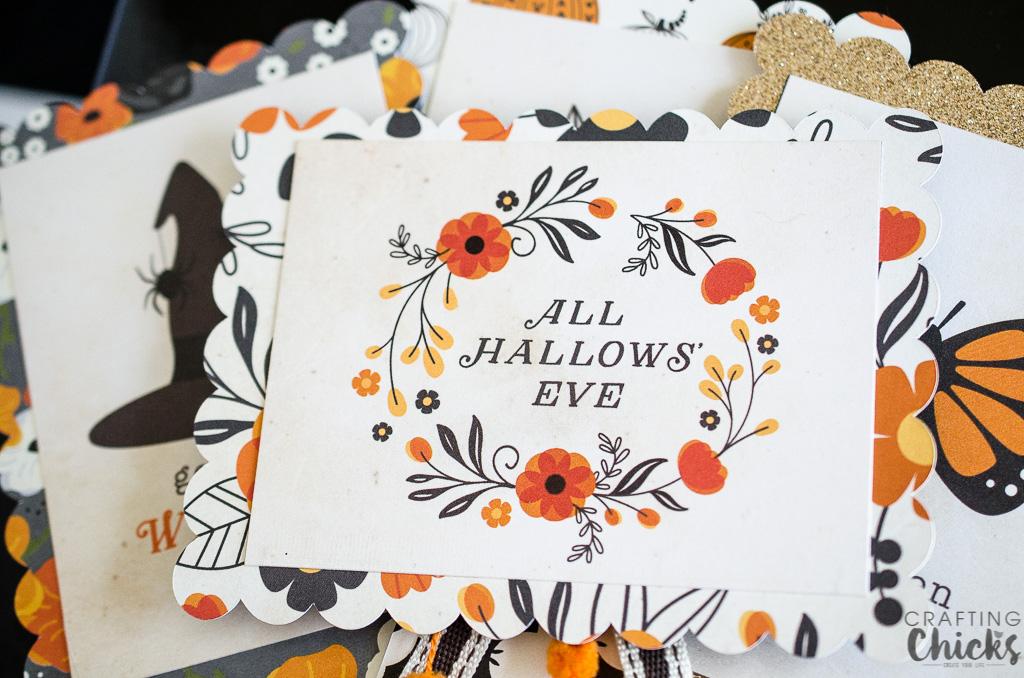 DIY Halloween Badges #Halloween #DIY #Papercrafts