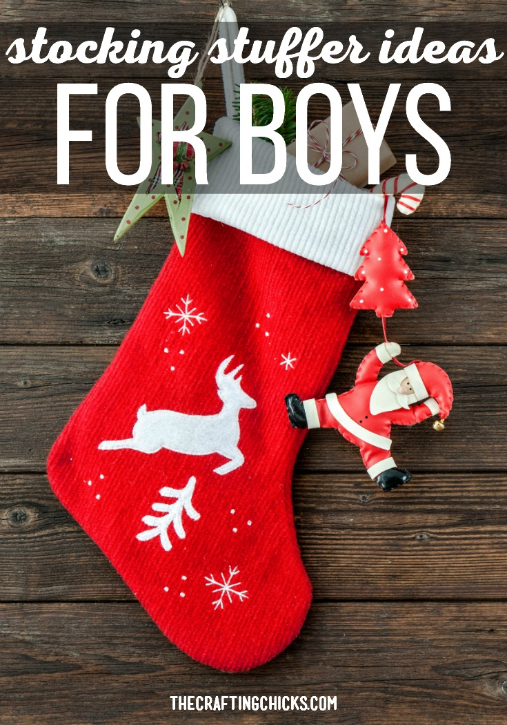 We have a great list of Stocking Stuffer Ideas for Boys. We think that any boy in your life would be happy to find these in their stockings Christmas morning.