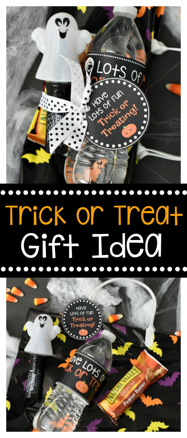 Trick or Treat Halloween Gift Idea | Get your kids even more excited for the big night with this cute Trick or Treating Halloween Gift Idea!
