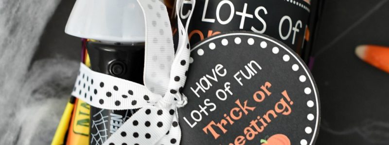 Trick or Treat Halloween Gift Idea