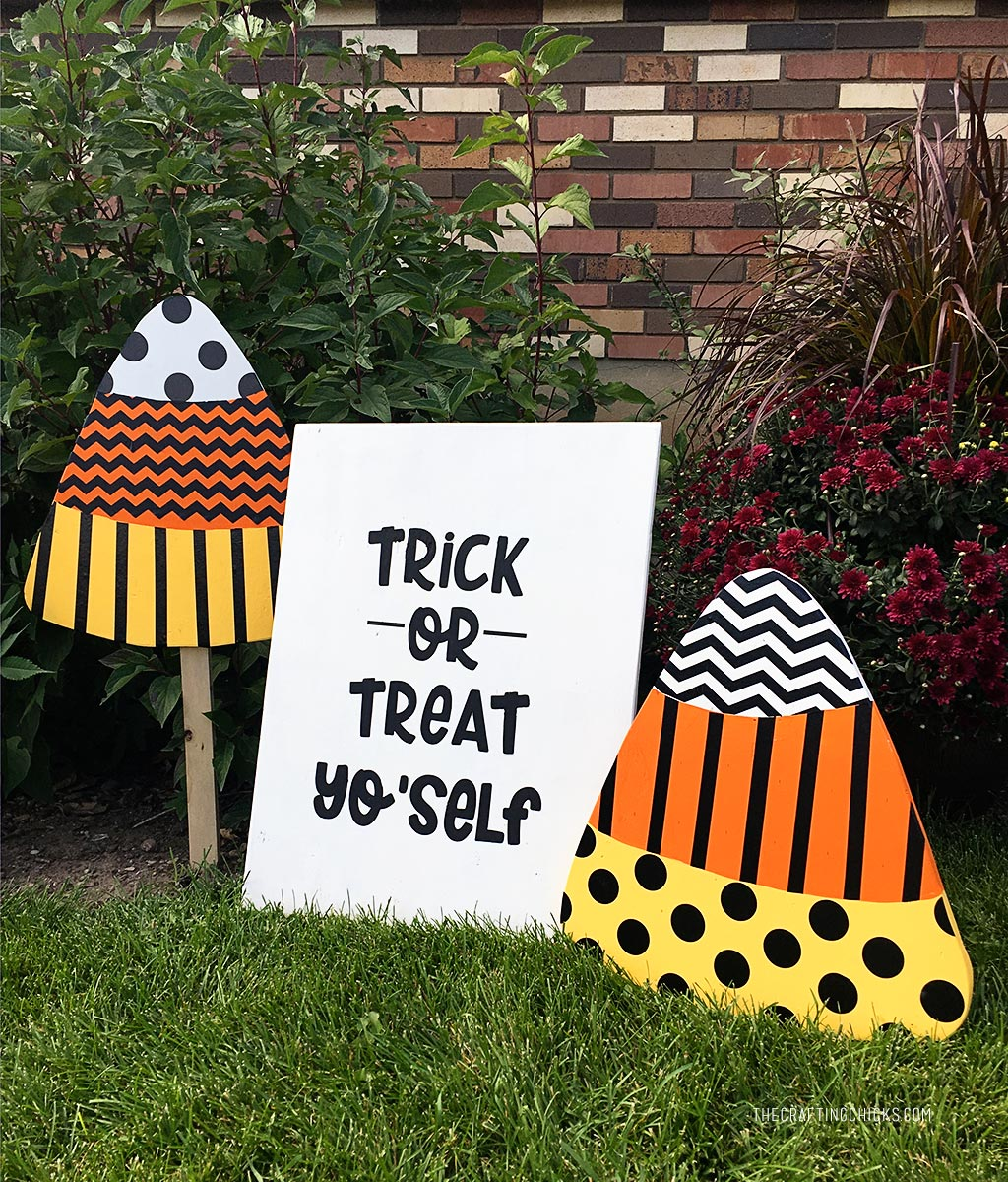 Candy Corn Yard Signs