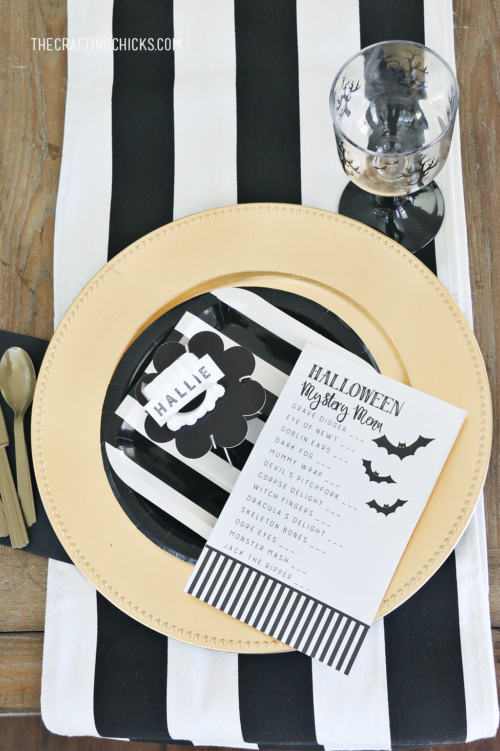 Halloween Mystery Dinner Party Free Menu for a Mystery Halloween Dinner