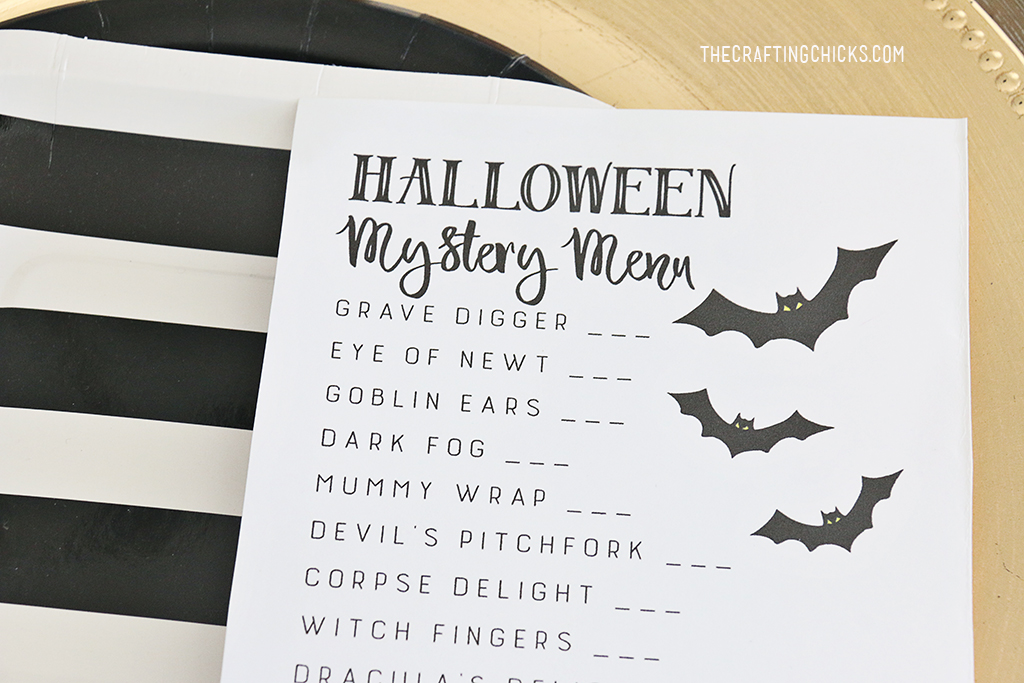 Mystery Dinner Party Ideas Part - 26: Halloween Mystery Dinner Party Free Menu For A Mystery Halloween Dinner