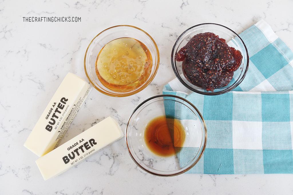 Easy Homemade Raspberry Honey Butter, Raspberry Honey Butter, Honey Butter