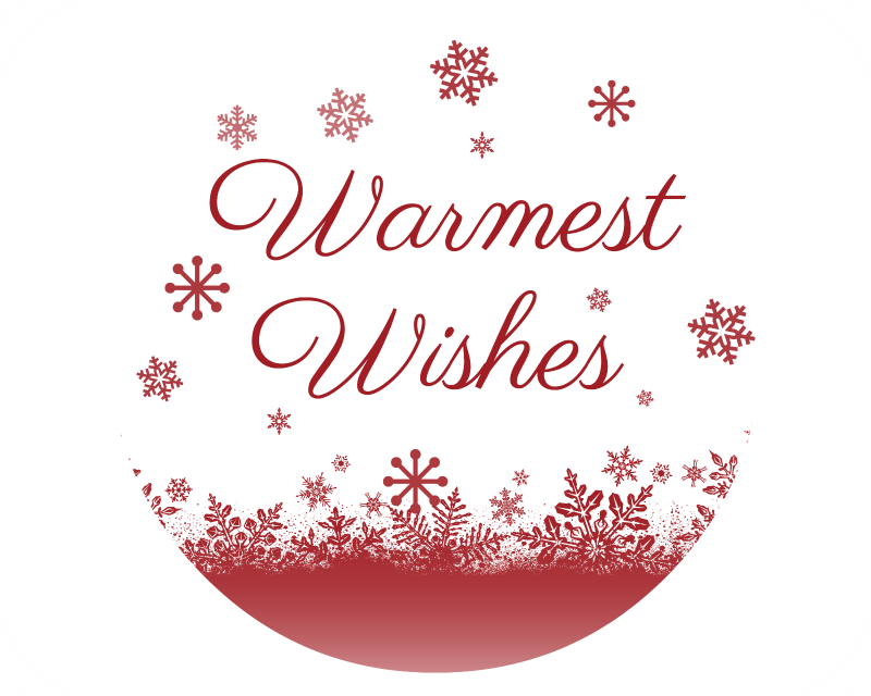 Warmest Wishes Gift Tag
