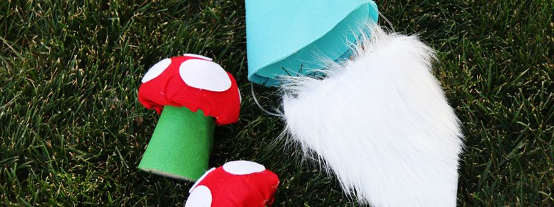DIY Dog Costume Garden Gnome
