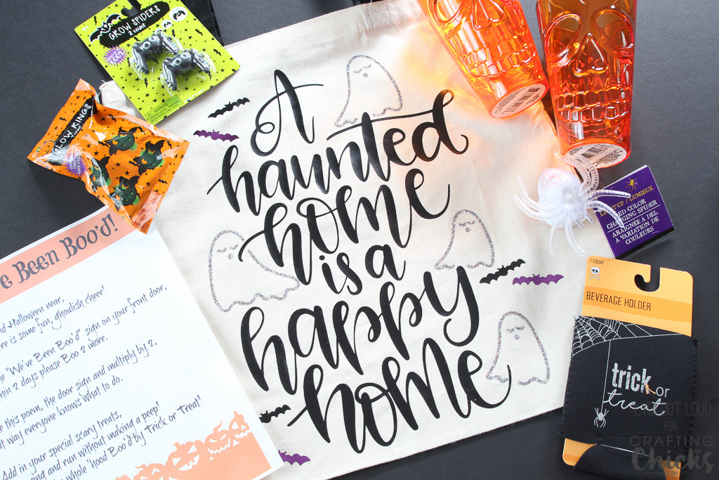 Halloween tote bag - Boo your neighbors!