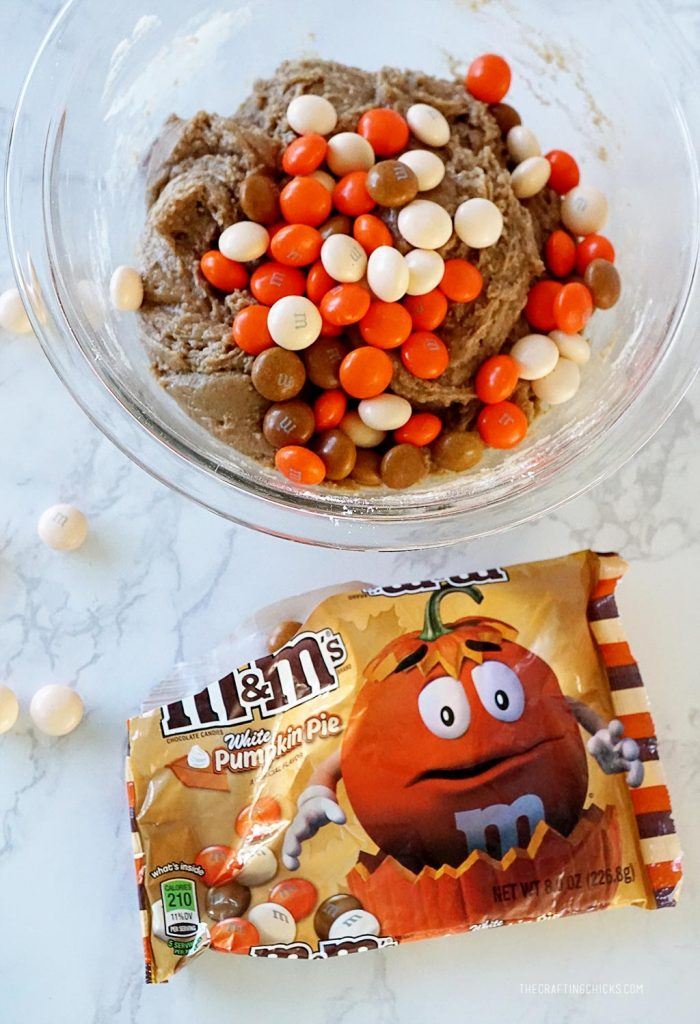 Pumpkin Pie M&M Cookie Recipe