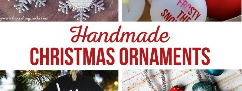 DIY Christmas Ornaments | 21 Favorite Handmade Christmas Ornaments | Photo ornaments, kids ornaments, Ninja Turtle Ornaments and more! #handmadechristmas #diyornaments