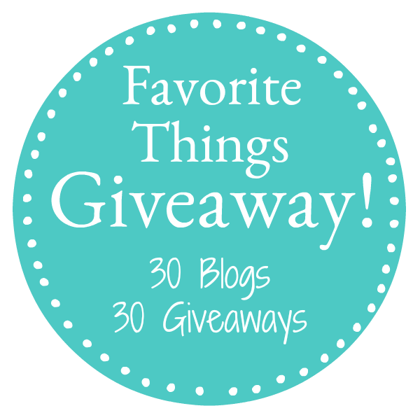 We are ecstatic to bring you the 5th annual Favorite Things Giveaway 2017. A chance for 30 people to win 30 amazing prize packs!