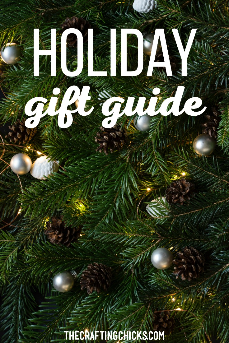 Holiday Gift Guide. The holiday season is almost here! To help you tackle your gift list this year, I have created a holiday gift guide. #holidaygiftguide #giftsideasforchristmas