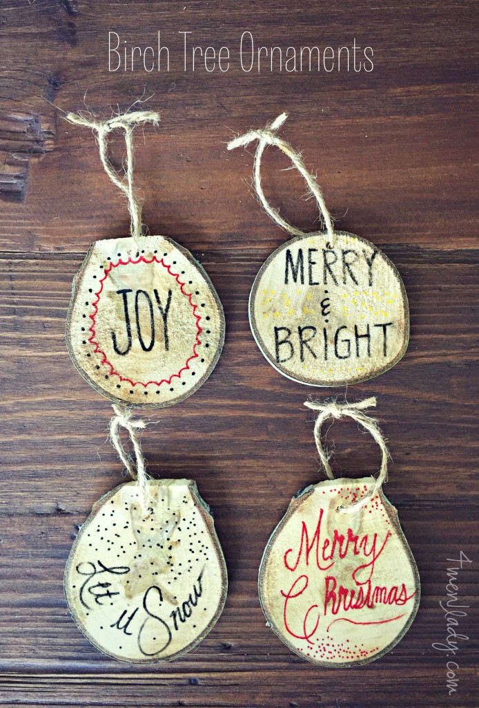 DIY Christmas Ornaments | 21 Favorite Handmade Christmas Ornaments | Photo ornaments, kids ornaments, Ninja Turtle Ornaments and more! #handmadechristmas #diyornaments