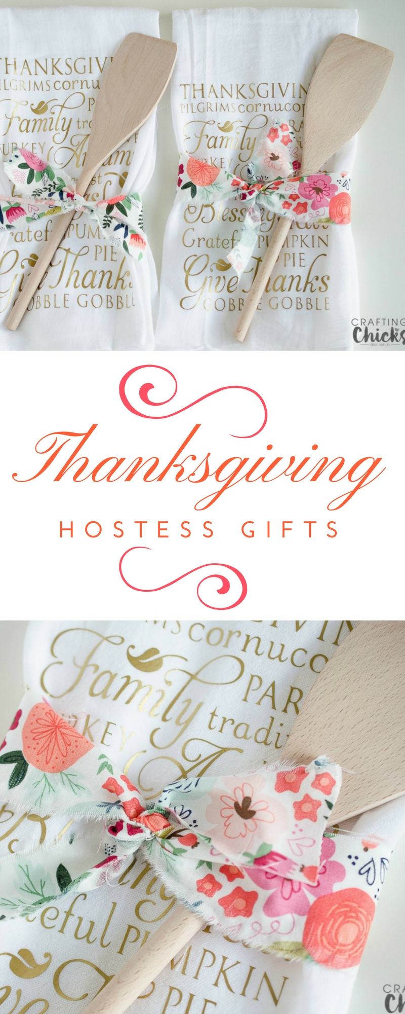 Thanksgiving Hostess Gift Idea | Quick and easy Thanksgiving hostess gift ideas to give to your gracious host. #thanksgivinggift #hostessgift