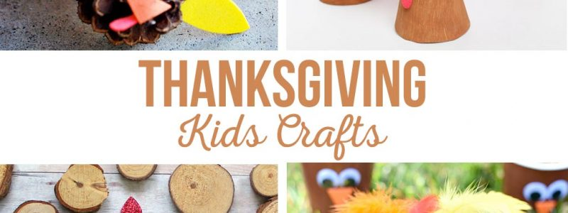 DIY Thanksgiving Kids Crafts | Easy Thanksgiving crafts for kids of all ages. Simple projects for school parties. #thanksgivingkidscrafts #turkeycrafts #kidscrafts