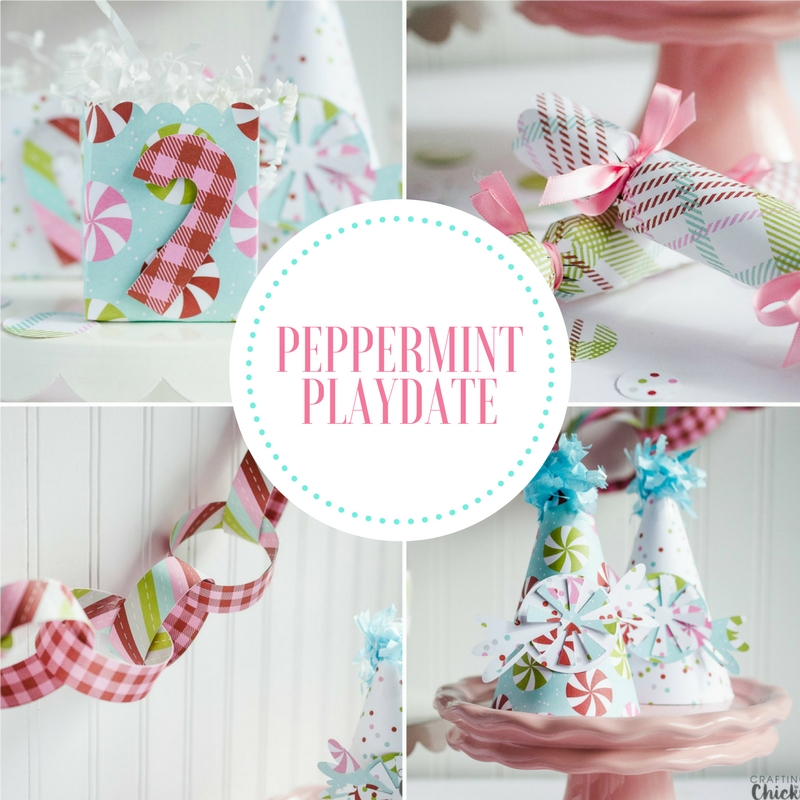 A peppermint playdate is a sweet and simple way to have a Christmas party for kids without a lot of effort. #christmasparty #kidsparty #kidschristmasparty