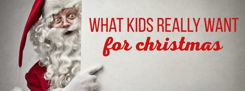 What Kids Really Want Gift Guide